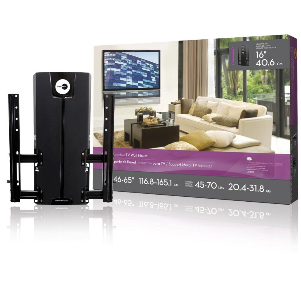 fixation mural interactive 46 65 pouces. Black Bedroom Furniture Sets. Home Design Ideas