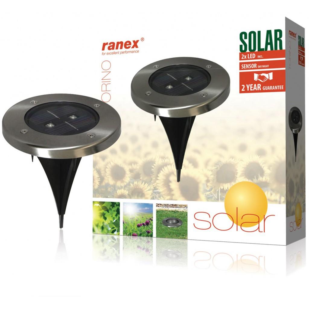 38386 spot solaire rond led enterrer avec ce spot. Black Bedroom Furniture Sets. Home Design Ideas