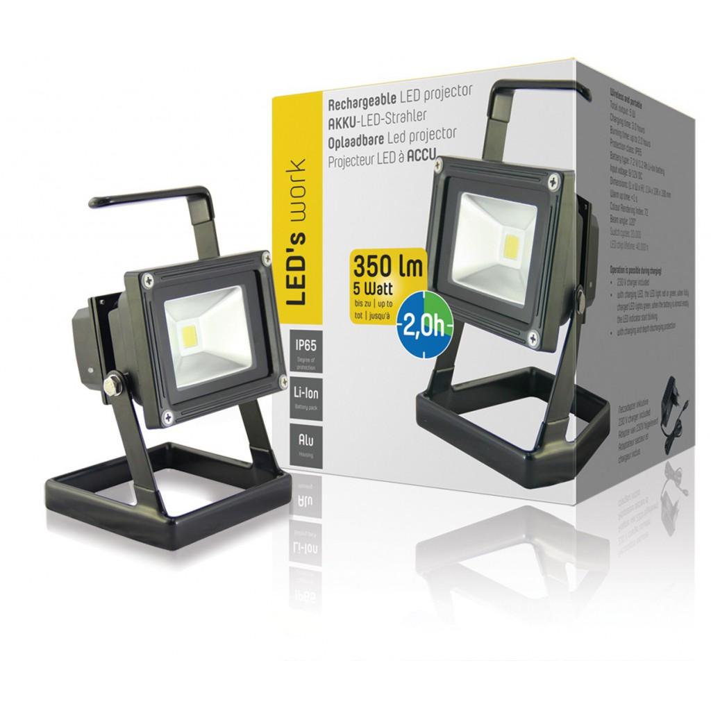 lampe de poche rechargeable led 5w. Black Bedroom Furniture Sets. Home Design Ideas