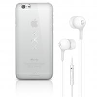 WHITE DIAMONDS écouteur Cristal Bundle transparent pour APPLE IPHONE 6