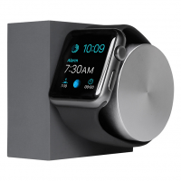 NATIVE UNION Dock silicon pour APPLE WATCH couleur slate