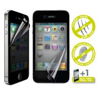 Muvit Films Ecran 1 Secret 1 Brillant Anti Traces Doigt Iphone 4/4s**