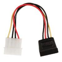Câble d'alimentation interne Molex Mâle - SATA 15 broches Femelle 0.15 m