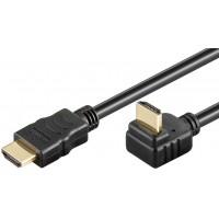 câble HDMI coudé haute vitesse avec Ethernet, 3 m