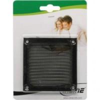 InLine® Filtre Aluminium, 80x80mm, schwarz