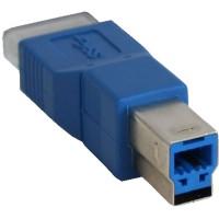 Adaptateur InLine® USB 3.0 Type B mâle à Micro B mâle