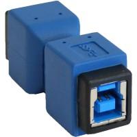 Adaptateur InLine® USB 3.0 Type B femelle à B femelle