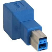 Adaptateur InLine® USB 3.0 Type B mâle à B femelle