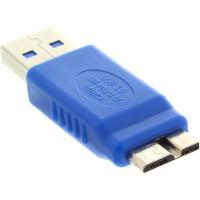 Adaptateur InLine® USB 3.0 Type A mâle à Micro B mâle
