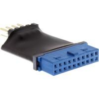 Adaptateur InLine® USB 3.0 à 2.0 interne Périphérique interne USB 3.0 à 19 broches vers USB 2.0
