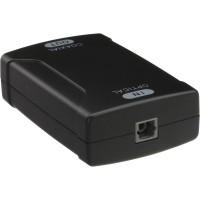 Convertisseur de signal audio InLine® Toslink optical IN Coaxial OUT numérique S / PDIF