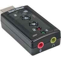 Carte son InLine® USB avec son surround 7.1 virtuel