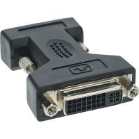 DVI-A Adaptateur, InLine®, analogue 24+5 prise femelle sur 15 broches HD prise (VGA)