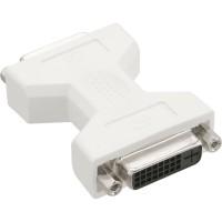 Adaptateur DVI-D, InLine®, Digital 24+1 prise femelle / prise femelle