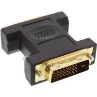 Adaptateur DVI-D, InLine®, Digital 24+5 prise femelle à DVI-D 24+1 prise