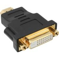 Adaptateur HDMI-DVI, InLine®, prise HDMI sur prise DVI femelle, contacts dorés