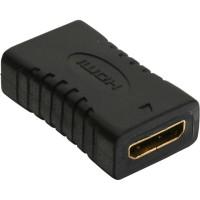 Adaptateur InLine® HDMI HDMI C femelle à femelle plaqué or