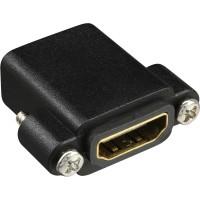 Adaptateur InLine® HDMI de type A femelle à A femelle plaqué or avec bride, 4K2K