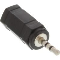 Adaptateur audio, InLine®, 2,5mm prise - 3,5mm prise femelle, Stéréo