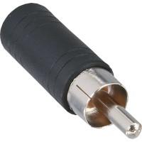 Adaptateur audio, InLine®, connecteur Cinch sur 3,5mm jack femelle, Mono