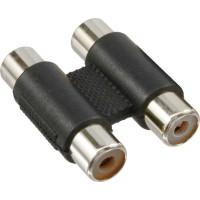 Adaptateur audio, InLine®, 2x connecteur Cinch femelle sur 2x connecteur Cinch femelle
