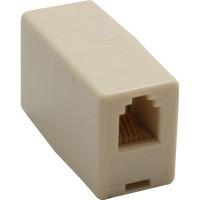 Accouplement modulaire, InLine®, RJ10 4P4C fem./fem.