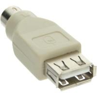 Adaptateur USB PS/2, InLine®, USB prise femelle A sur PS/2 prise