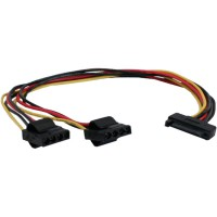 Câble Y d'alimentation InLine® SATA 1 IN two OUT