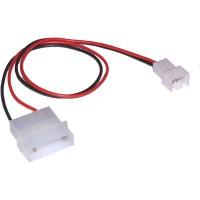Câble adaptateur d'électricité pour ventilateurs, InLine®, 12V - 7V, 0,3m