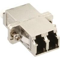 Adaptateur fibre optique InLine® Duplex Duplex pour manchon en céramique LC / LC SM avec bride