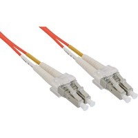 LWL câble duplex, InLine®, LC/LC 62,5/125µm, 0,5m