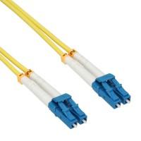 Câble duplex optique en fibre InLine® LC / LC 9 / 125µm OS2 0.5m
