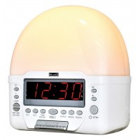 Balance radio-réveil avec lumière