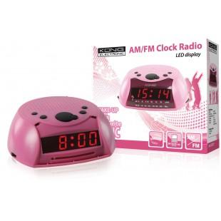 König radio-réveil AM/FM