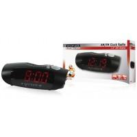 König radio-réveil AM/FM avec LED rouge