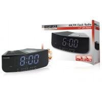 König radio réveil AM/FM avec LED blanche
