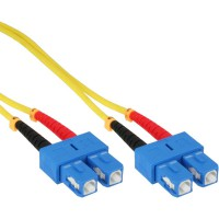 Câble duplex optique InLine®, SC / SC, 9/125 µm, OS2, 5 m