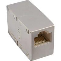 Accouplement câble patch Cat.5e, InLine®, 2x RJ45 prise femelle