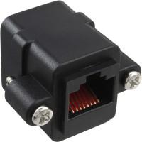 Câble de raccordement InLine® Cat.5e Couplage UTP 2x RJ45 femelle pour l'installation