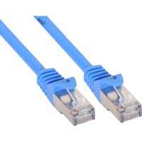 Câble patch, FTP, Cat.5e, bleu, 1m, InLine®