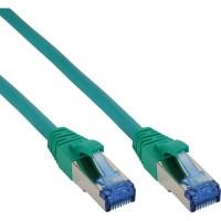 Câble patch Cat.6(A) S-STP/PIMF, InLine®, sans halogènes 500MHz, vert, 3m