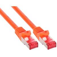Câble patch, S-STP/PiMF, Cat.6, orange, 0,3m, InLine®