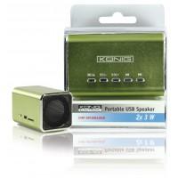 König haut-parleur USB portable 2x 3 W