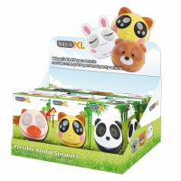 basicXL counter display 6 portable animal speakers