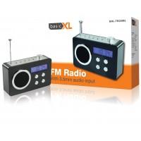 basicXL radio portable noire
