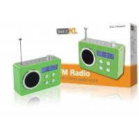 basicXL radio portable verte