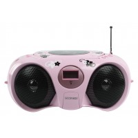 König FM radio / CD player pink