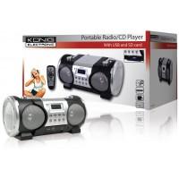 König radio/lecteur CD portable