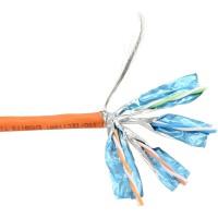Câble d'installation Cat. 6, 250MHz, S-STP, sans halogènes, 100m tambour