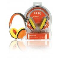 KNG casque Bulldozr - chaos constructor (orange)